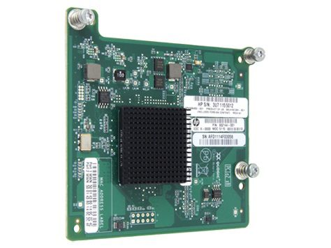 Адаптер HPE Fibre Channel 8Gb QMH2572 (651281-B21) адаптер dell qlogic 2562 dual port 8gb fibre channel hba pci e x8 full profile kit 406 bbek