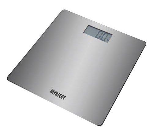 Весы MYSTERY MES-1803, до 180кг, цвет: серебристый
