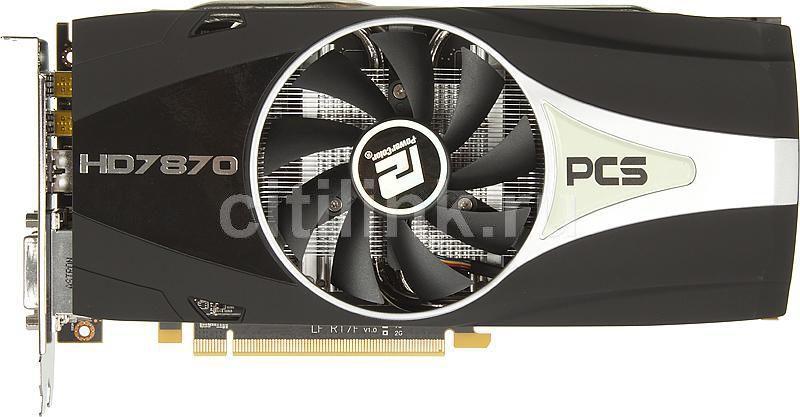 Видеокарта POWERCOLOR Radeon HD 7870,  2Гб, GDDR5, Ret [ax7870 2gbd5-2dhpp]
