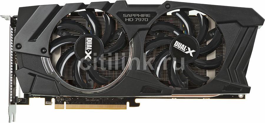 Видеокарта SAPPHIRE Radeon HD 7970,  11197-XX-40G,  3Гб, GDDR5, OC,  Ret