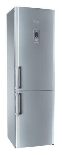 Холодильник HOTPOINT-ARISTON HBD 1201.3 M F H,  двухкамерный,  серебристый [hbd 1201.3 mfh]