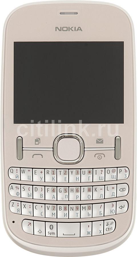 Мобильный телефон NOKIA Asha 200  светло-розовый