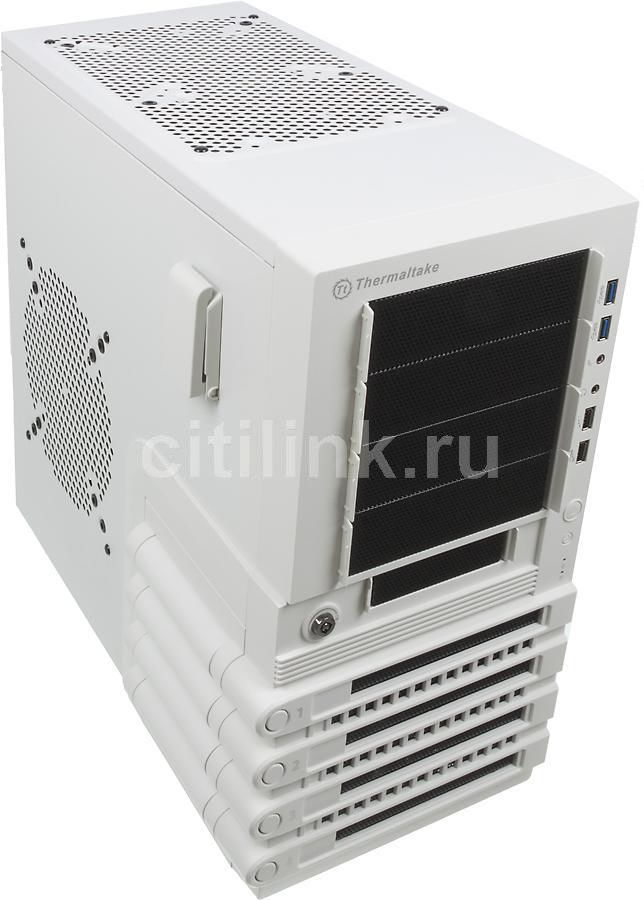 Корпус ATX THERMALTAKE Level 10 GTS VO30006N2N, Midi-Tower, без БП,  белый