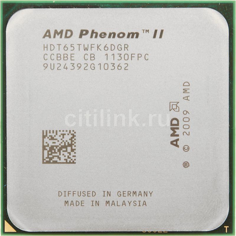Процессор AMD Phenom II X6 1065T, SocketAM3 OEM [hdt65twfk6dgr]