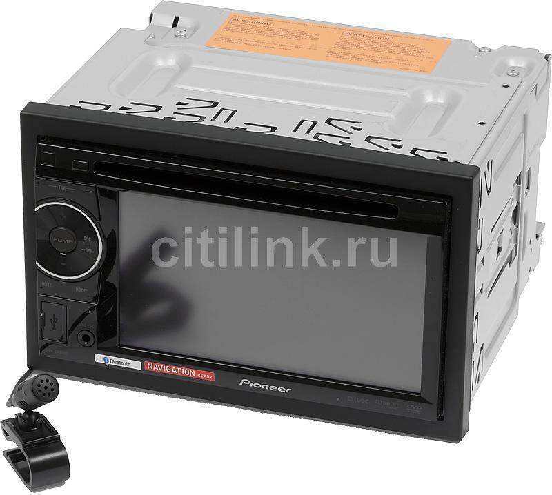 Автомагнитола PIONEER AVH-2400BT,  USB