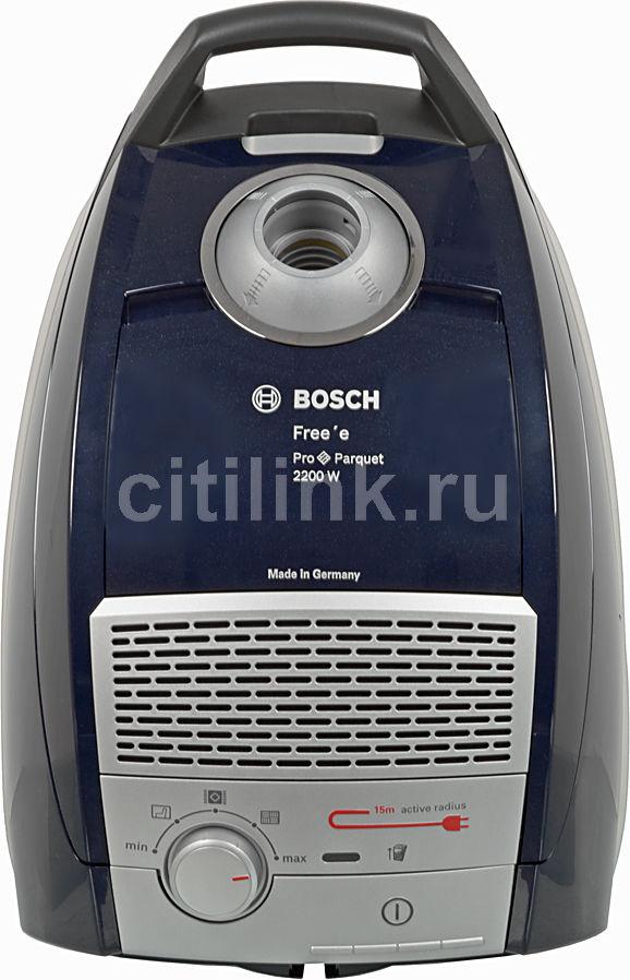 Пылесос BOSCH BSGL52233, 2200Вт, синий