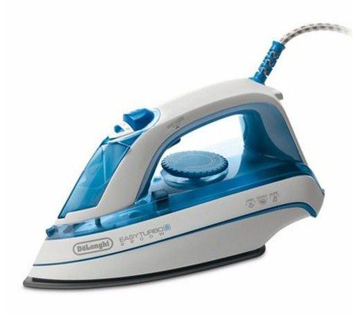 Утюг DELONGHI FXK22T,  2200Вт,  голубой/ белый