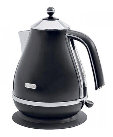 Чайник электрический DELONGHI KBO 2001.BK, 2000Вт, черный