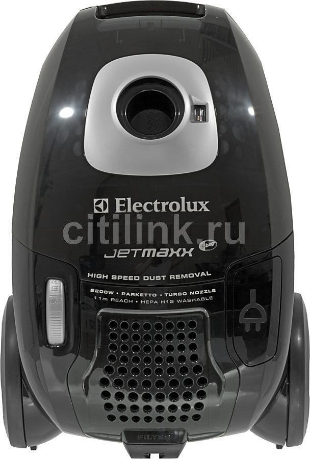 Пылесос ELECTROLUX ZJM6840, 2200Вт, черный