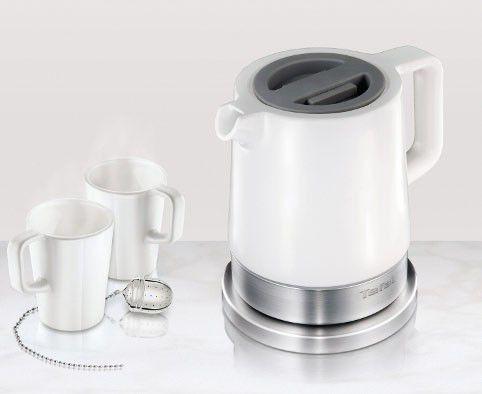 Чайник электрический TEFAL KO 70013E, 2400Вт, белый