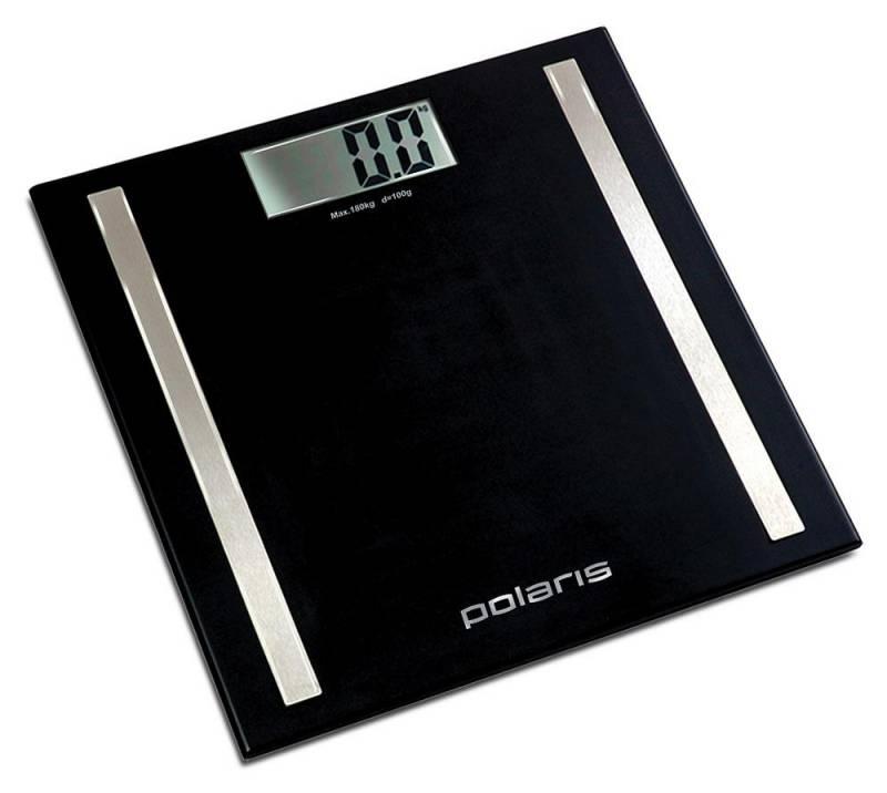 Весы POLARIS PWS1827D, до 180кг, цвет: белый