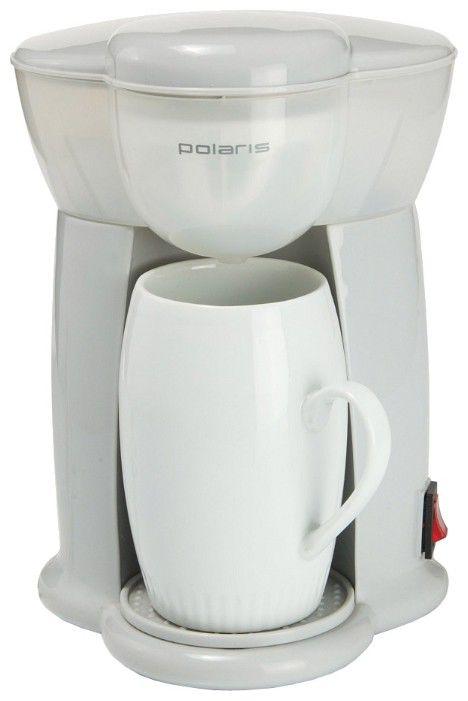 Кофеварка POLARIS PCM0109,  капельная,  белый