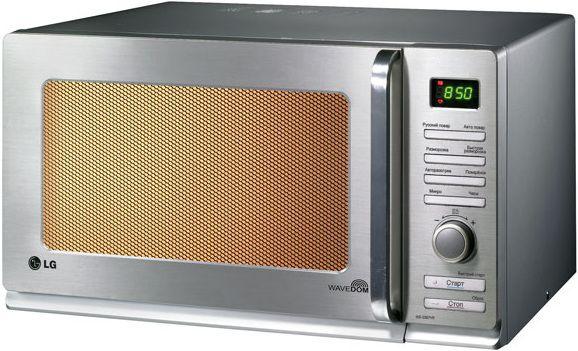 Микроволновая печь LG MS2588VRK, серебристый