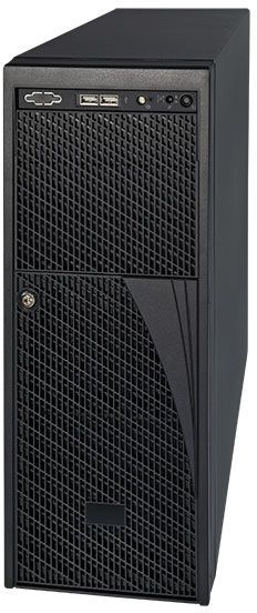 Корпус Intel Original P4208XXMHGC Midi-Tower 2x750W черный [p4208xxmhgc 916310]