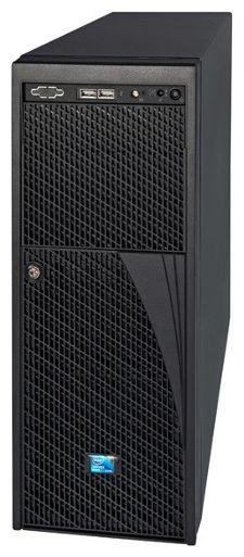 Корпус Intel Original P4308XXMFEN Midi-Tower 550W черный [p4308xxmfen 916337]