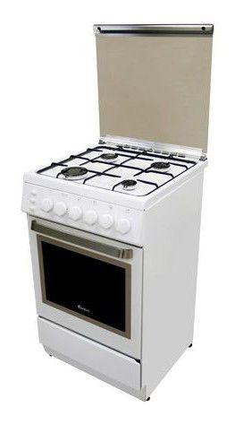 Газовая плита ARDO A 5540 G6,  газовая духовка,  белый