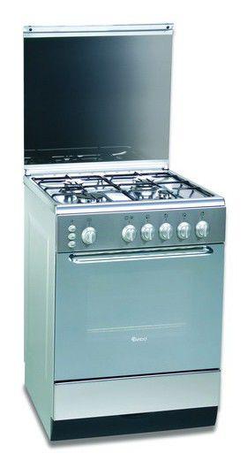 Газовая плита ARDO C 6640 G6,  газовая духовка,  серебристый