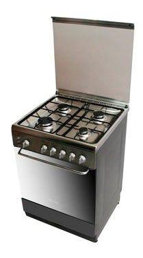 Газовая плита ARDO C 664V G6,  газовая духовка,  серебристый