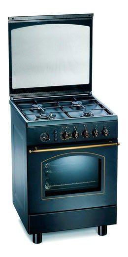 Газовая плита ARDO D662 RNS,  газовая духовка,  черный