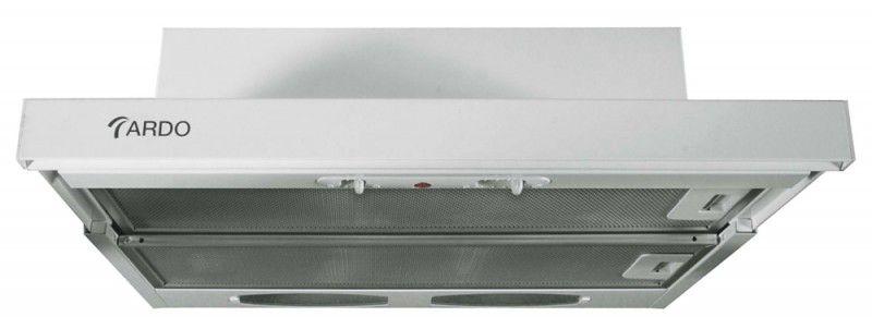 Вытяжка встраиваемая Ardo S2 50 белый управление: ползунковое (1 мотор)