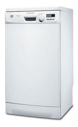 Посудомоечная машина ELECTROLUX ESF45050WR,  узкая, белая