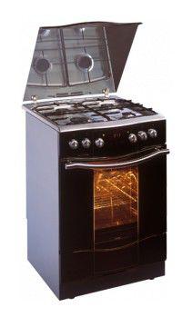 Газовая плита HANSA FCMI 68263080,  электрическая духовка,  серебристый
