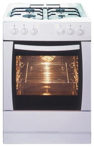 Газовая плита HANSA FCMW 67002019,  электрическая духовка,  белый