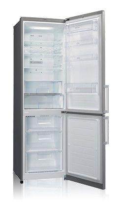 Холодильник LG GA-B489BLQZ,  двухкамерный,  серебристый