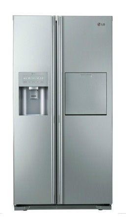 Холодильник LG GW-P227NAXV,  двухкамерный,  серебристый