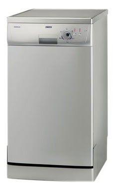 Посудомоечная машина ZANUSSI ZDS105S,  узкая, серебристая