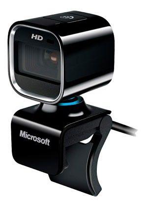 Web-камера MICROSOFT LifeCam HD-6000 for Business,  черный [5uh-00002]