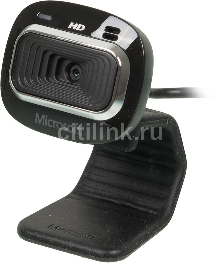 Web-камера MICROSOFT LifeCam HD-3000 for Business, черный [t4h-00004]