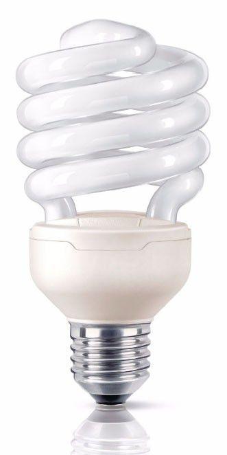 Лампа PHILIPS Tornado 871016321430610, 12Вт, 740lm, 8000ч,  2700К, E14,  1 шт.