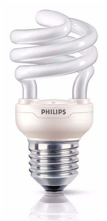 Лампа PHILIPS Tornado 871016321155810, 12Вт, 740lm, 8000ч,  2700К, E27,  1 шт.