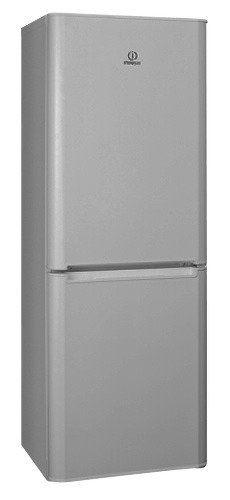 Холодильник INDESIT BIA 16 S,  двухкамерный,  серебристый