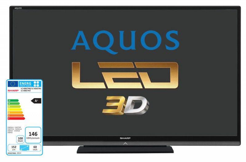 LED телевизор SHARP LC60LE740RU