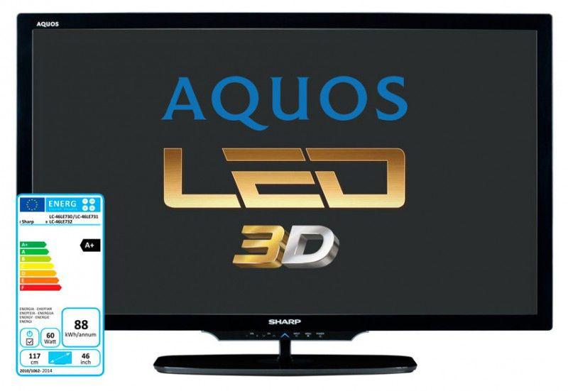LED телевизор SHARP Aquos LC-46LE730RU  46