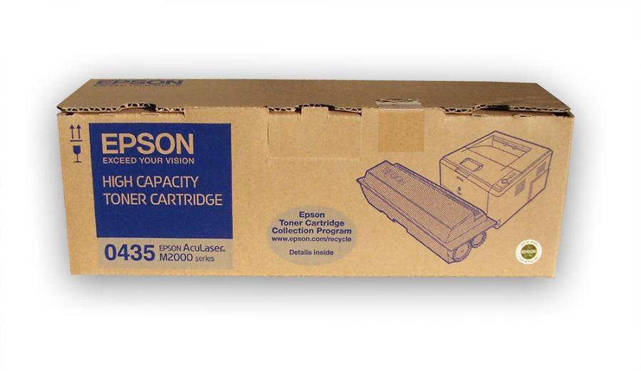 Картридж EPSON C13S050435 черный