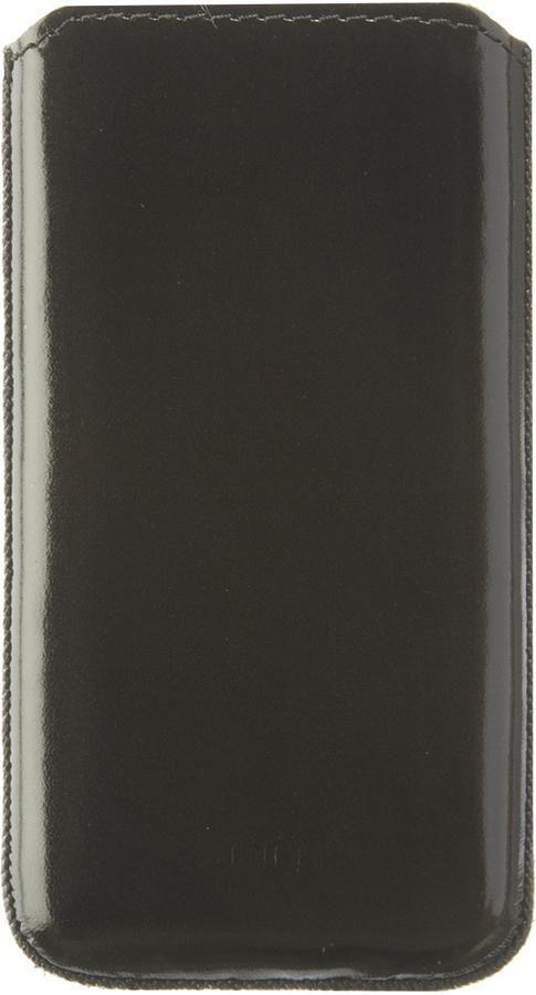 Чехол (футляр) DEPPA Prime Classic, для Samsung Galaxy Ace, черный (лак) [048]