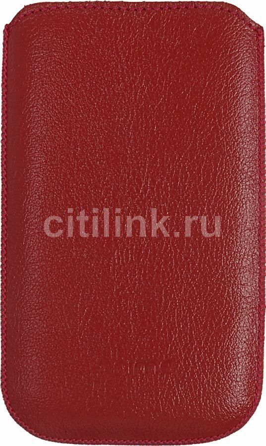 Чехол (футляр) DEPPA Prime Classic, для Samsung Galaxy Ace, красный [048]