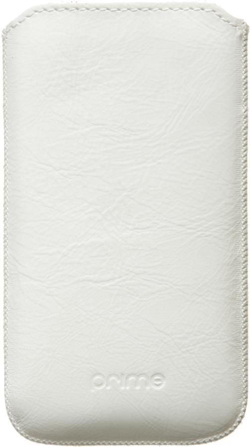 Чехол (футляр) DEPPA Prime Classic, для Samsung Galaxy Ace, белый (лак) [048]