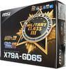 Материнская плата MSI X79A-GD65 LGA 2011, ATX, Ret вид 8