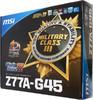 Материнская плата MSI Z77A-G45, LGA 1155, Intel Z77, ATX, Ret вид 6