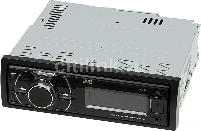 Автомагнитола JVC KD-X40EE,  USB