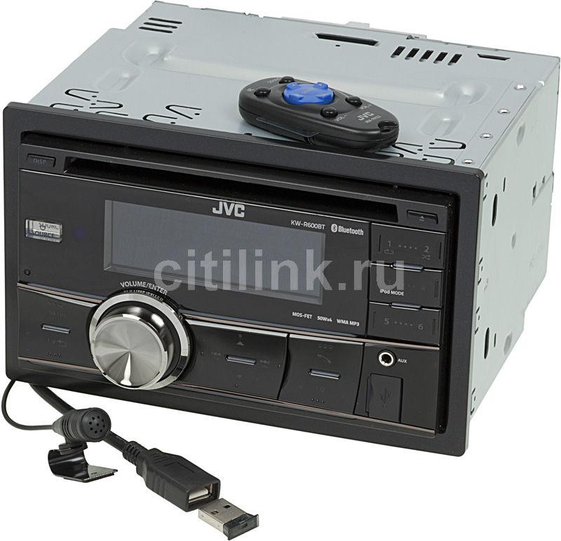 Автомагнитола JVC KW-R600BTEY,  USB