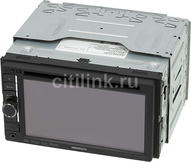 Автомагнитола KENWOOD DDX-3051,  USB