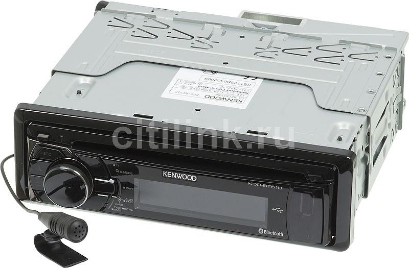 Автомагнитола KENWOOD KDC-BT51U,  USB