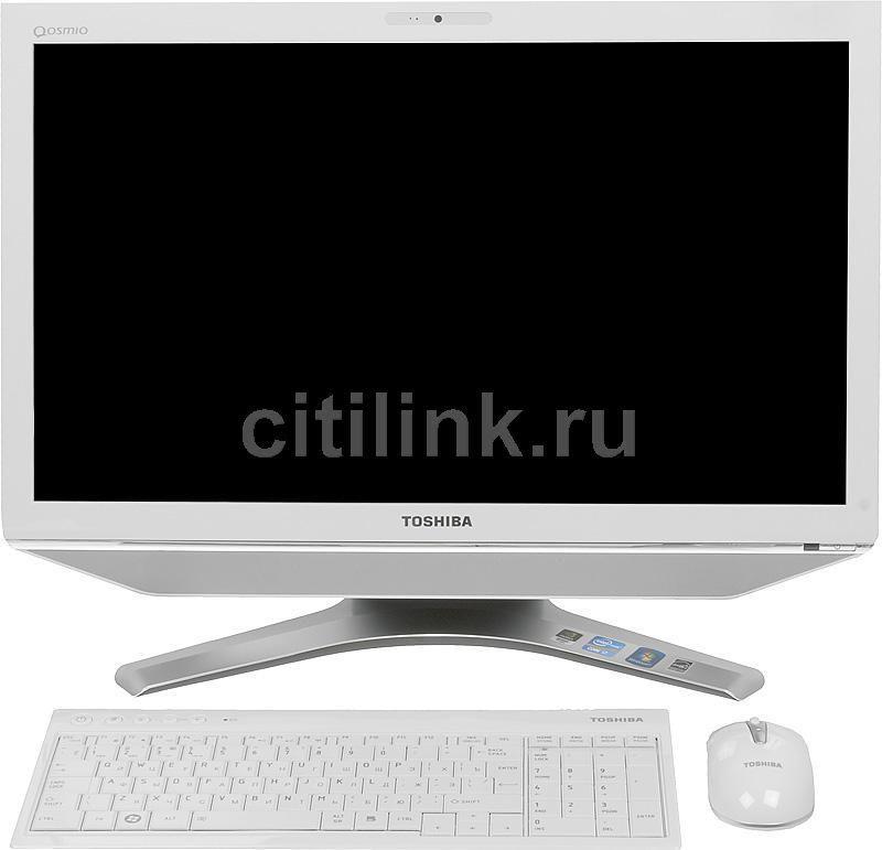 Моноблок TOSHIBA DX730-A1W, Intel Core i7 2670QM, 8Гб, 2Тб, nVIDIA GeForce GT540M - 1024 Мб, Blu-Ray, Windows 7 Home Premium, белый и серебристый [pqq11r-01c00kru]