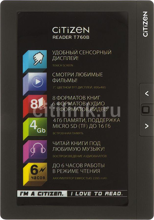 Электронная книга CITIZEN T760B,  7