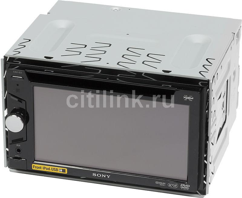Автомагнитола SONY XAV-63,  USB